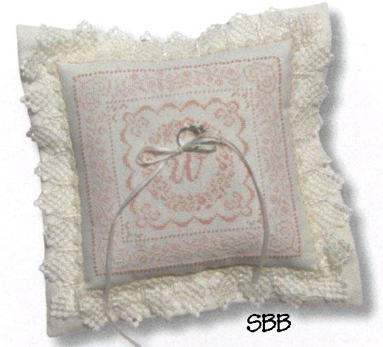 JBW Designs Wedding Pillow
