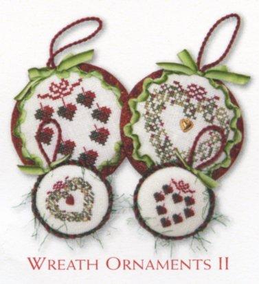JBW Designs  Wreath Ornaments II