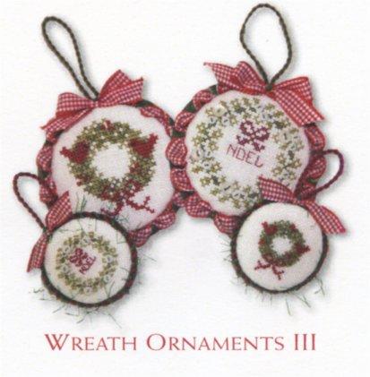 JBW Designs  Wreath Ornaments III