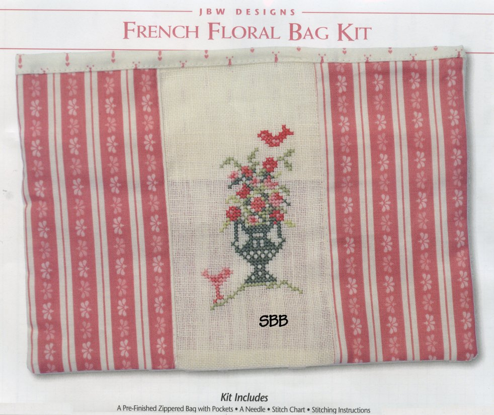 JBW Designs Limited Edition French Floral Bag Kit