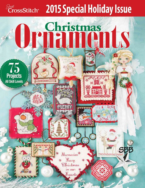 Just Cross Stitch2015 Christmas Ornament Issue