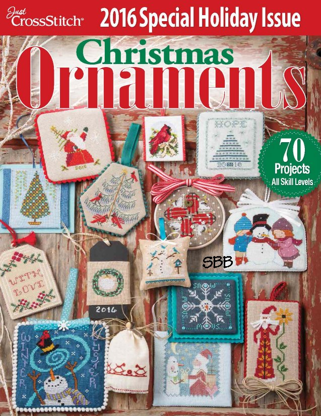 Just Cross Stitch2016 Christmas Ornament Issue