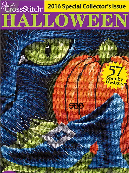 Just Cross Stitch2016 Halloween Issue