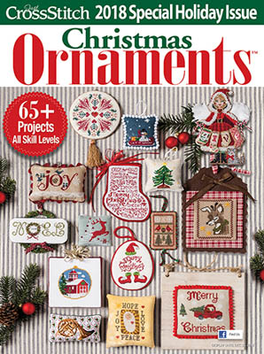 Just Cross Stitch2018 Christmas Ornament Issue