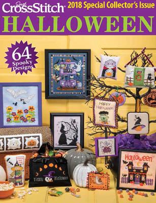 Just Cross Stitch2018 Halloween Issue