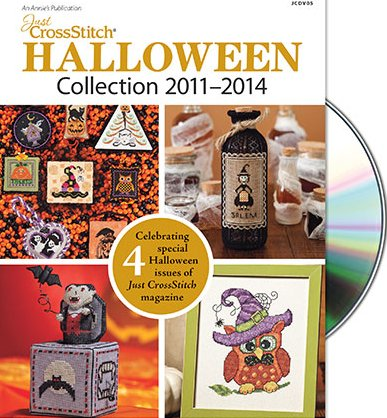 Just Cross StitchHalloween Collection DVD 2011 - 2014