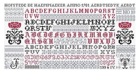 Jan Houtman JH53 Letters Blijven Facineren