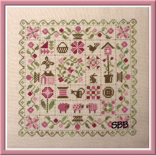 Jardin Prive Patchwork Printemps