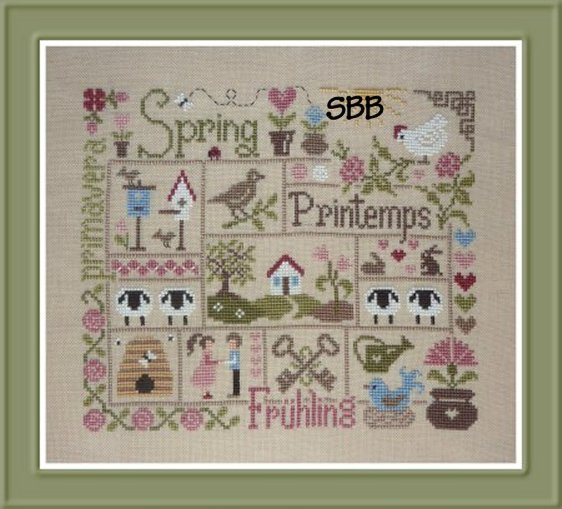 Jardin Prive Sampler Printemps