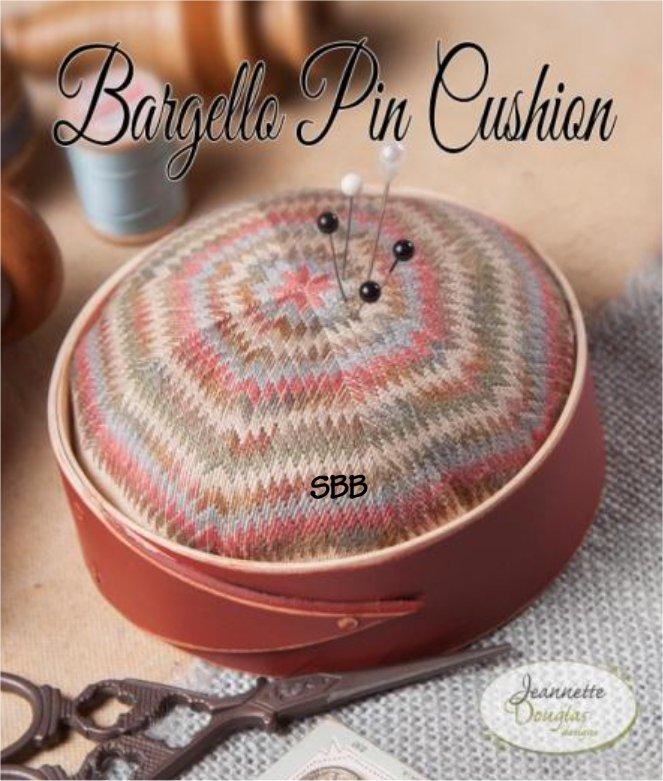 Jeannette Douglas Designs Bargello Pin Cushion