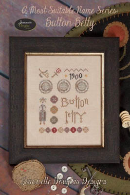 Jeannette Douglas Designs Button Betty