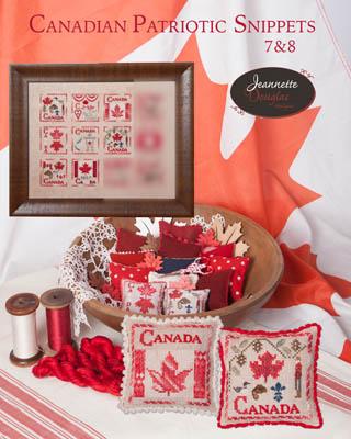 Jeannette Douglas Designs  Canadian Patriotic Snippets ~ 7 & 8