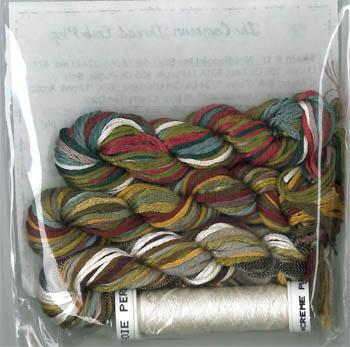 Jeannette Douglas Designs Common Thread Sampler Thread & Embellishment Pack