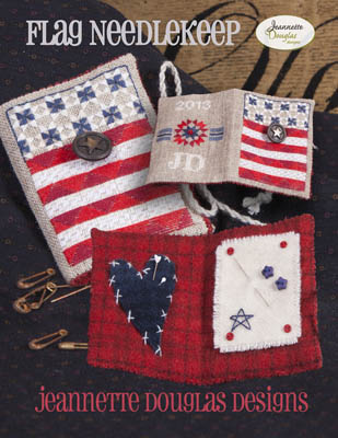 Jeannette Douglas Designs  Flag Needlekeep
