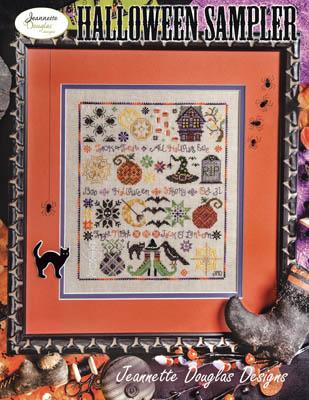Jeannette Douglas Designs  Halloween Sampler