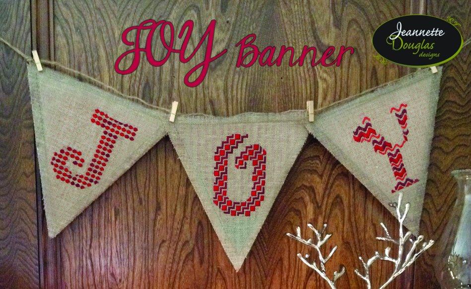 Jeannette Douglas Designs Joy Banner