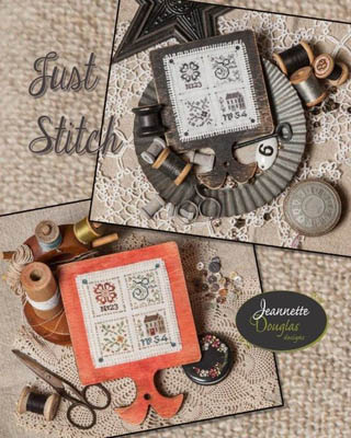 Jeannette Douglas Designs   Just Stitch (with buttons)