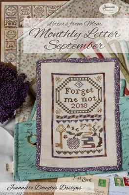 Jeannette Douglas Designs  Letters From Mom 2 ~ September