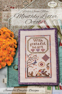 Jeannette Douglas Designs  Letters From Mom 3 ~ October