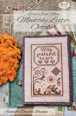 Jeannette Douglas Designs  Letters From Mom 3 ~ October