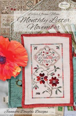 Jeannette Douglas Designs  Letters From Mom 4 ~ November