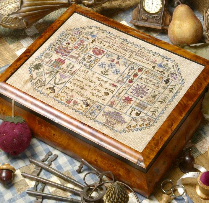 Jeannette Douglas DesignsMy Stitching Treasures