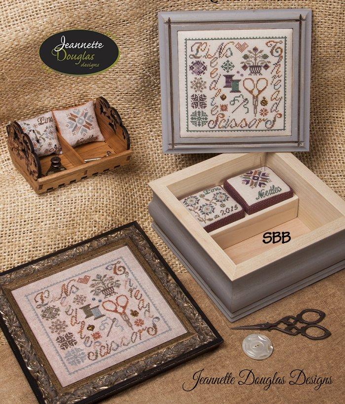 Jeannette Douglas Designs Pins & Needles