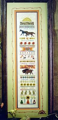 Jeannette Douglas Designs Prairie West Sampler