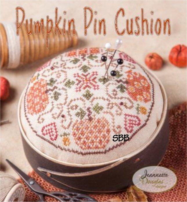 Jeannette Douglas Designs Pumpkin Pin Cushion