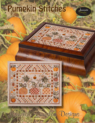 Jeannette Douglas Designs Pumpkin Stitches