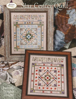 Jeannette Douglas Designs  Star Center Quilt