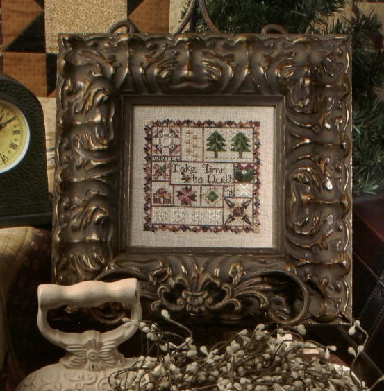 Jeannette Douglas Designs Take Time to Quilt Winter