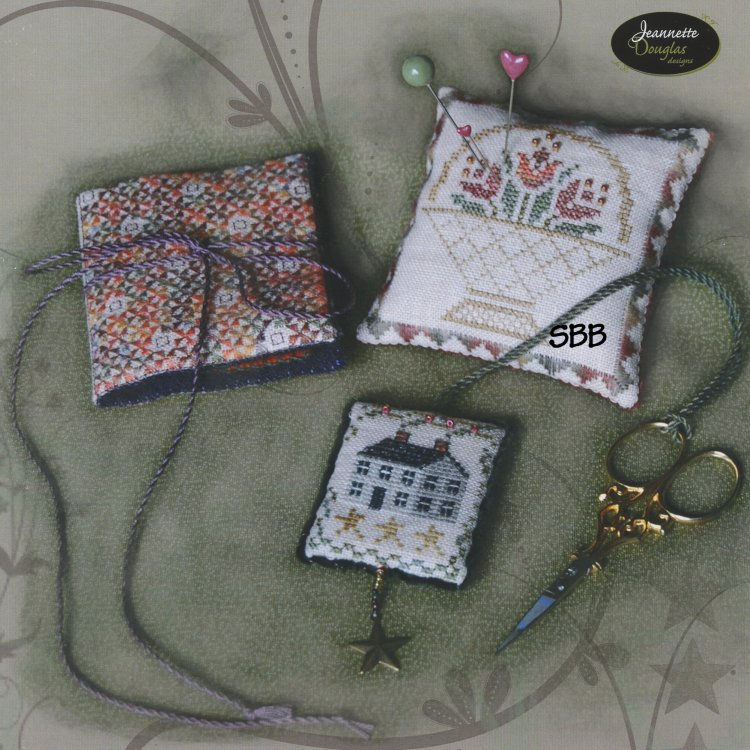 Jeannette Douglas Designs The Four Seasons Accessories Leaflet