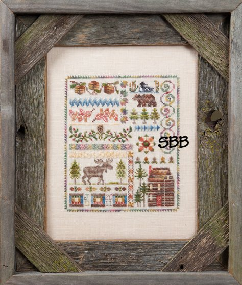 Jeannette Douglas Designs Three Pines Sampler
