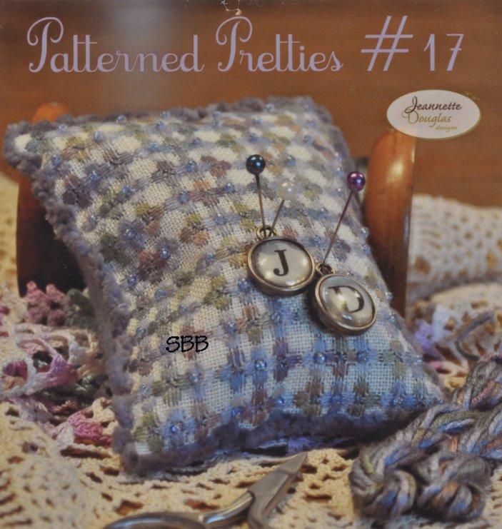 Jeannette Douglas Designs Limited Edition  Patterned Pretties #17