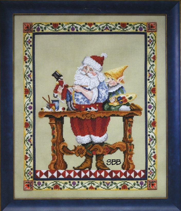 Jim Shore JSP001E Santas Workshop Leaflet & Embellishment Pack