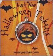 Just Nan Clearance HT01 Halloween Tokens ~ Pumpkin