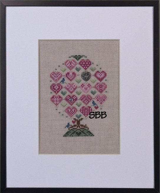 Just Nan Clearance JN242 Love Birds Tree With Embellishments