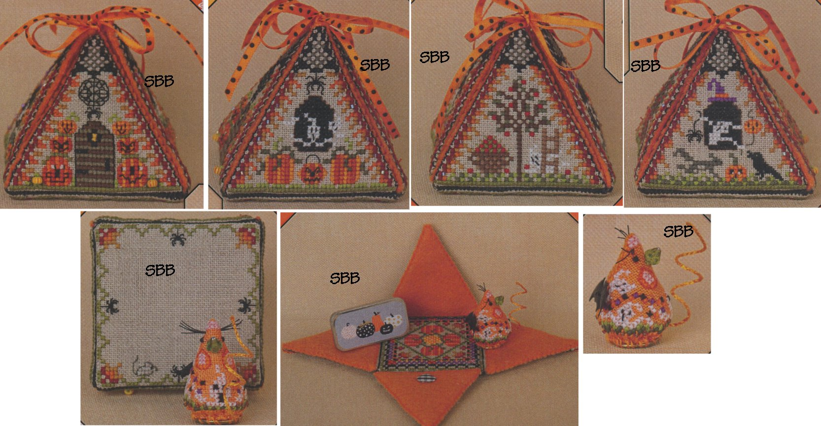 Just Nan Clearance  JN297 Limited Edition Haunted Autumn Mouse In A House with Embellishments