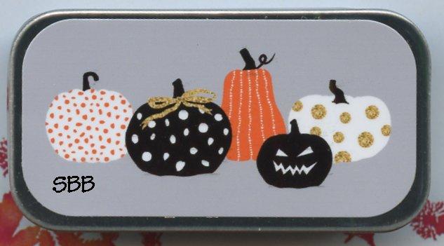 Just Nan Clearance MST2 Pumpkin Party Mini Slide