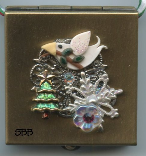 Just Nan Clearance WWB06 Peace Wee Whimzi Christmas Ornament Box