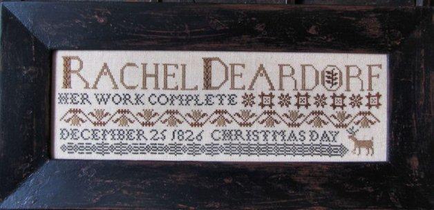 Kathy Barrick Christmas Day, 1826