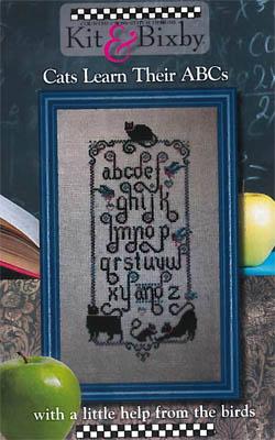 Kit & Bixby Cats Learn Their ABCs