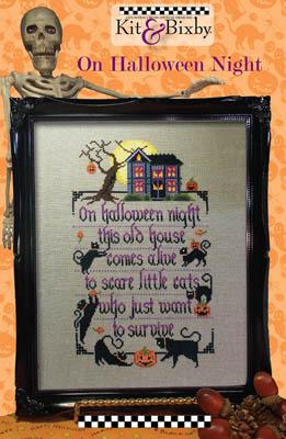 Kit & Bixby On Halloween Night