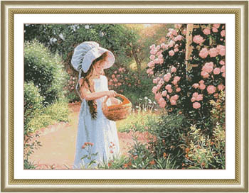 Kustom Krafts Basket Of Petals
