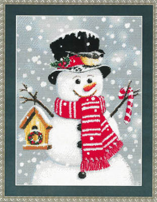 Kustom Krafts Birdhouse Snowman