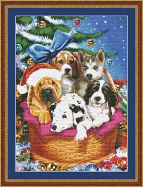 Kustom Krafts Christmas Puppies