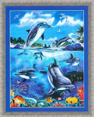 Kustom Krafts Dolphins At Play
