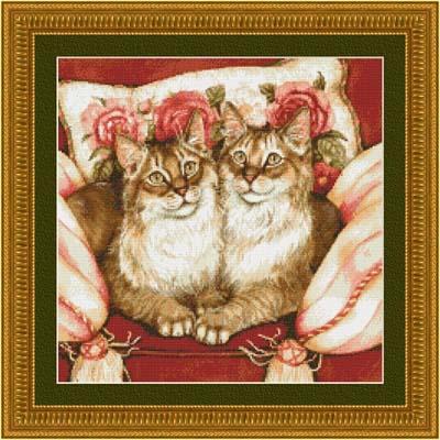 Kustom Krafts Feline Sisters