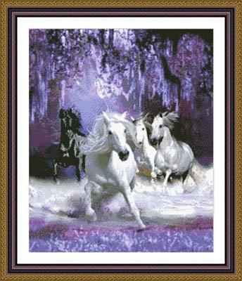 Kustom Krafts Horses In The Night